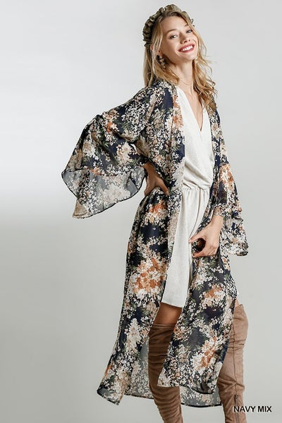 Dream The Day Away Long Kimono