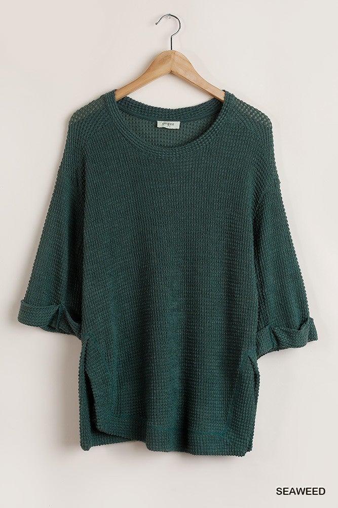 Keep Me Comfy Shirt - Seaweed
