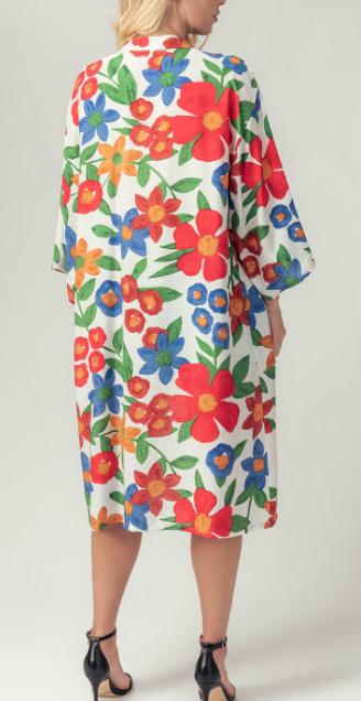Gentle Breeze Kimono Cardigan - White
