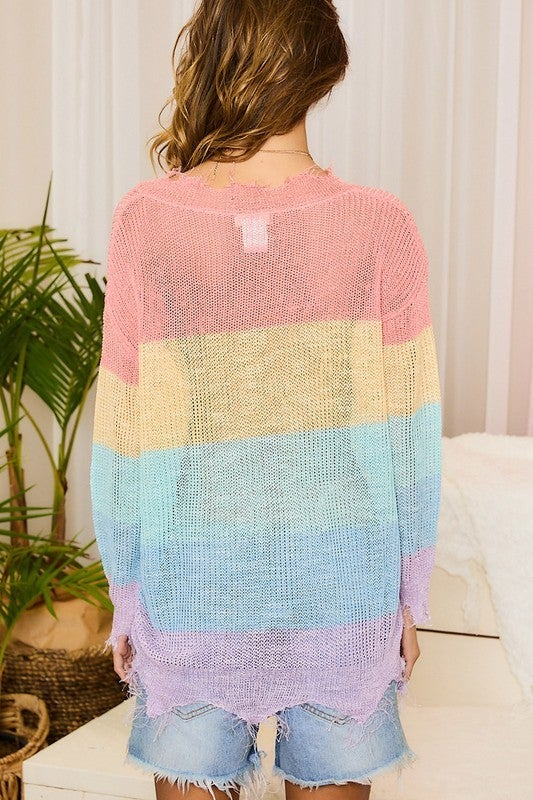 Never Give Up Sweater