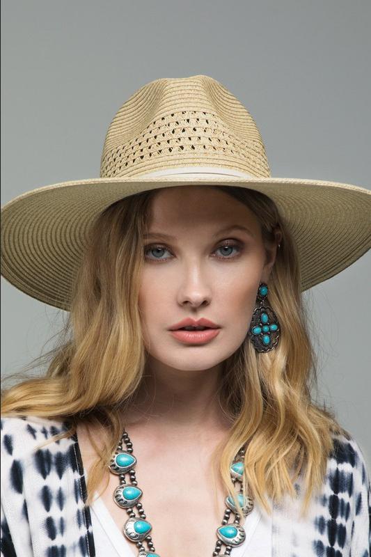 Panama Jacklyn Hat - Natural