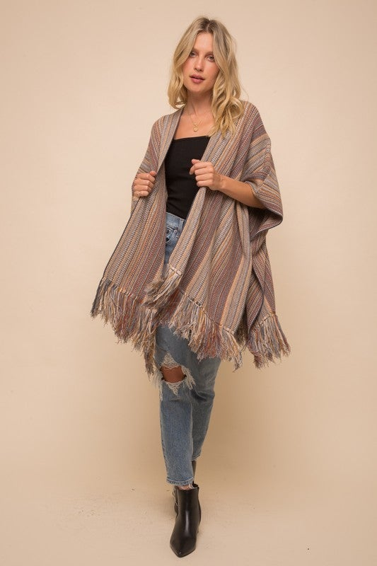 Poncho Love Sweater