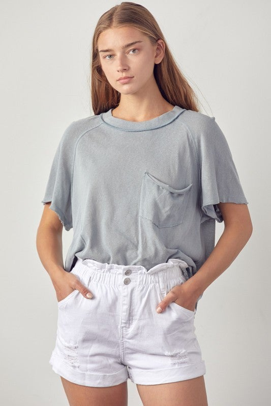 Relax The Day Away Top - Blue