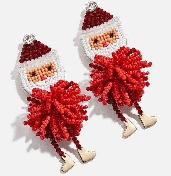 Santa Is Coming to Town Earrings