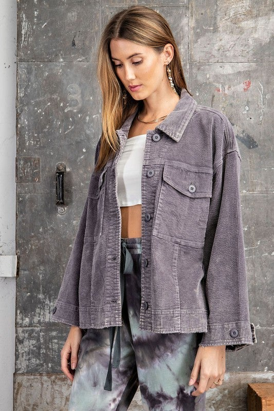 For the Long Haul Jacket - Grey