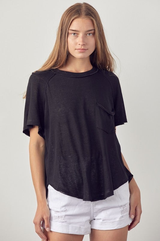 Relax The Day Away Top - Black
