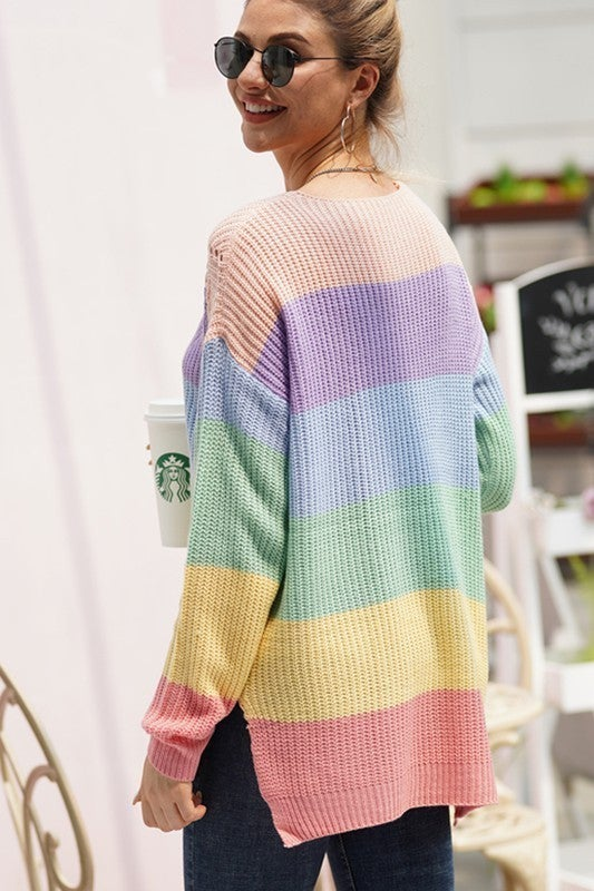Save The Stripes Sweater