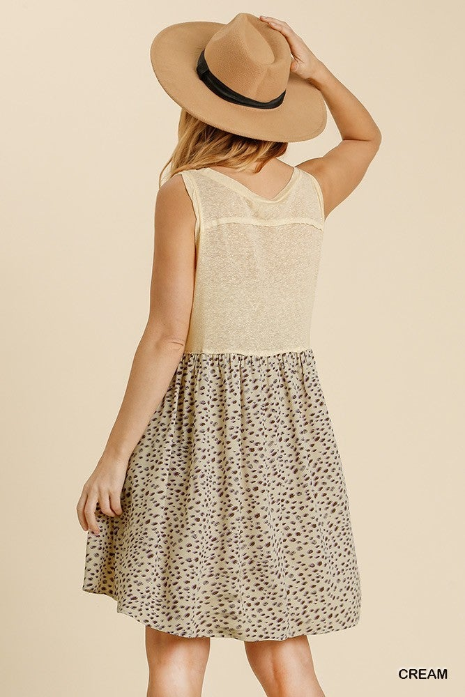 There For You Dress - Cream