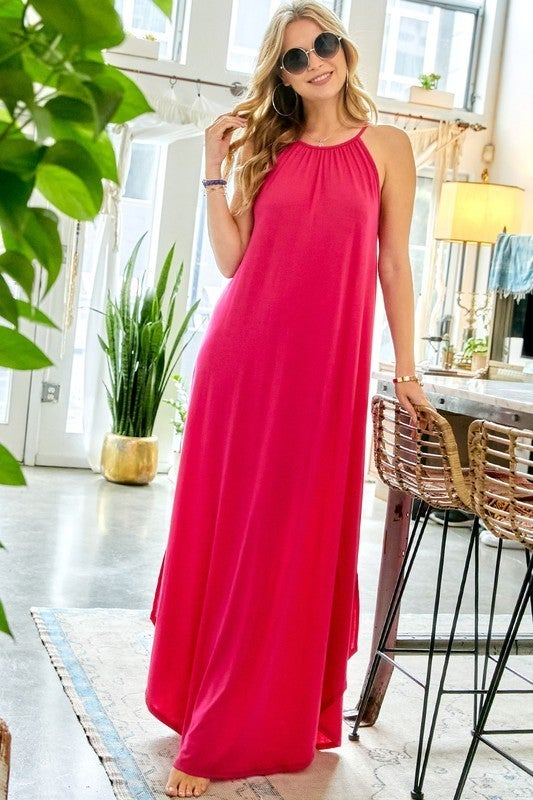 Dreaming Of Summer Dress - Pink