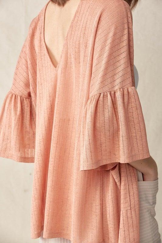 Feel The Love Kimono - Ginger