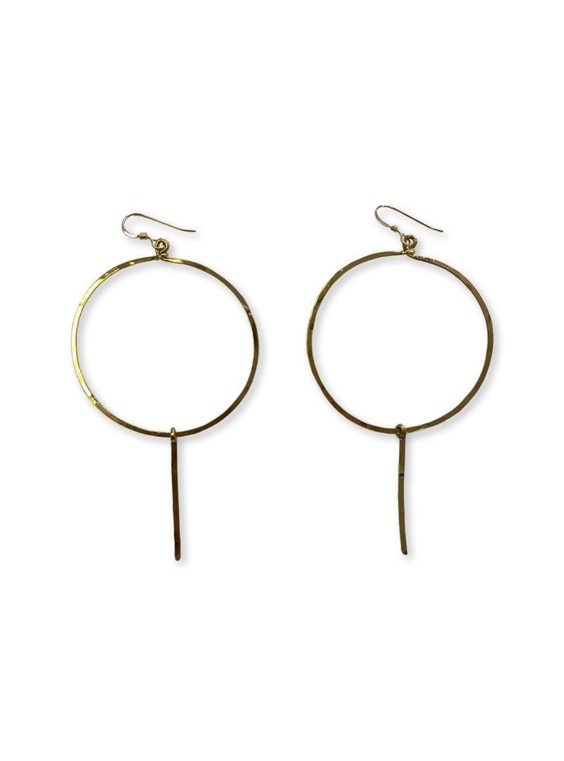Love, Poppy Hoop + Spike Earrings - Gold