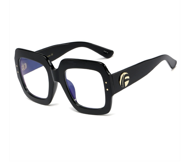 All A Daydream Blue Light Glasses - Black