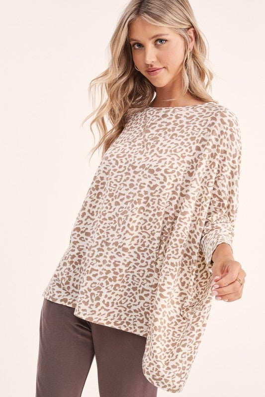 Up For Anything Leopard Top