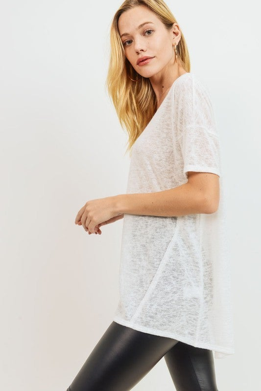 Back To The Basics Top - Off White