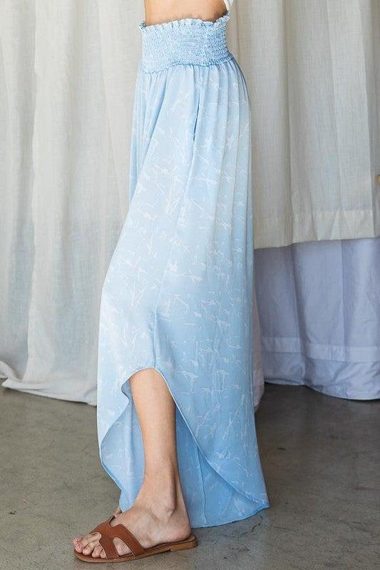 Spring Into Fun Pants - Light Blue