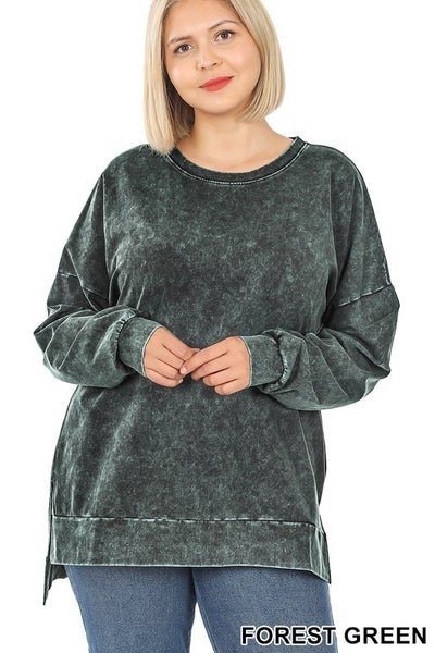 Stone Quarry Top - Forest Green