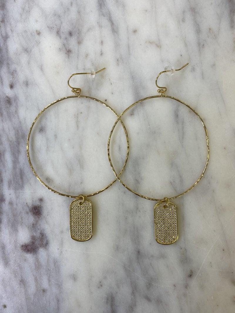 Jennifer Thames - Shine Bright Earrings