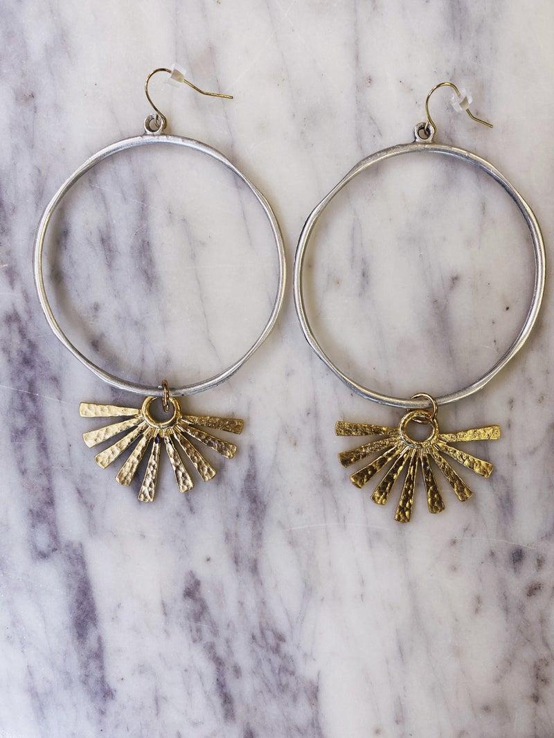 Jennifer Thames Burst Earrings