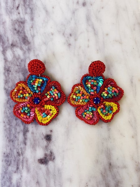 Can't Wait Earrings-Multi