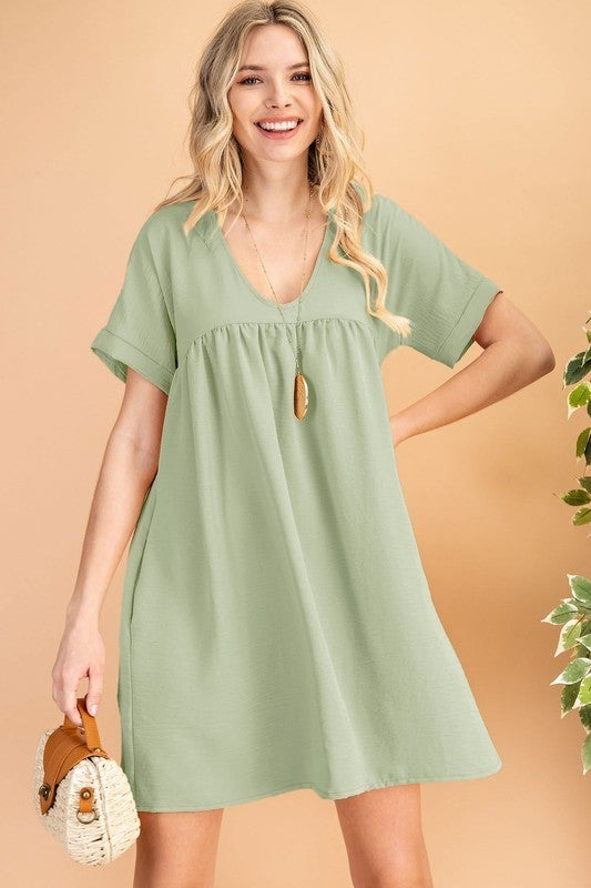 Love Yourself Dress - Sage