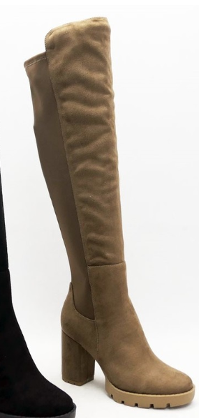 Stand Tall Boots - Taupe