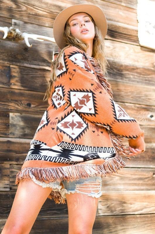 Moxie Aztec Cardigan
