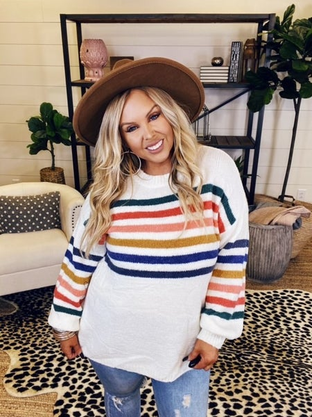 Rainbow Connection Sweater Top