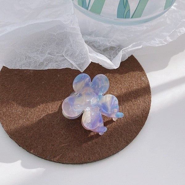 Beauty Inside And Out Hair Clip - Blue