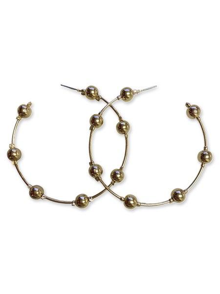 Bliss Hoop Earrings - Gold