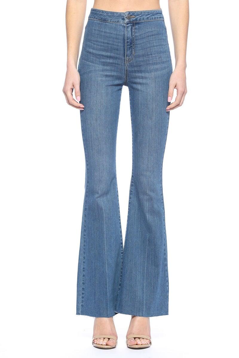 Dare to Flare Jeans - Medium Wash