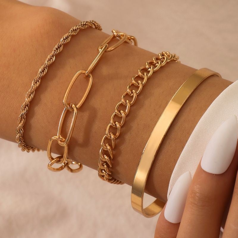 Simple Chains Bracelet