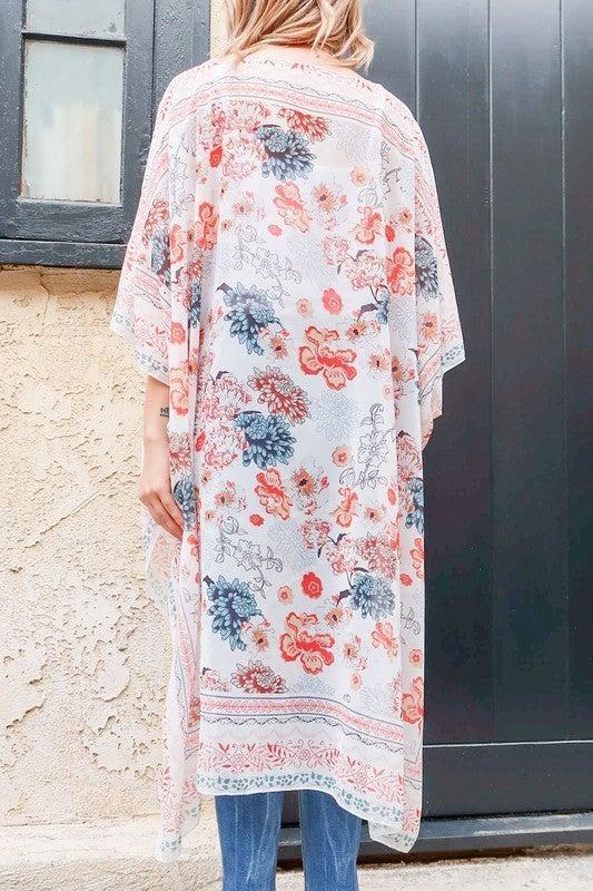 Feeling Complete Kimono - Red