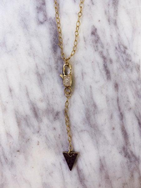 Jennifer Thames Clip Y Necklace