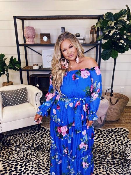 Something To Love Maxi Dress - Blue