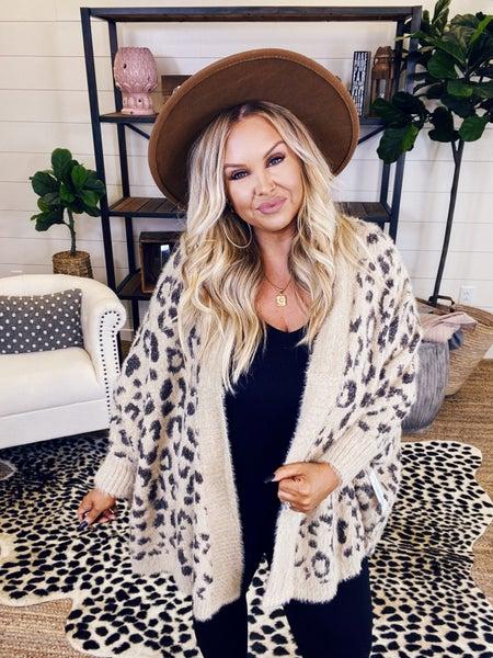 Snuggle With Me Leopard Cardigan
