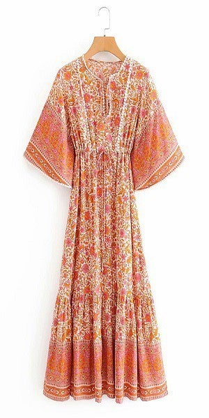 Orange Crush Dress