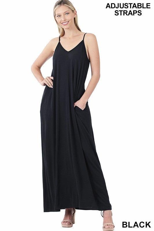 Dream Big Maxi Dress - Black