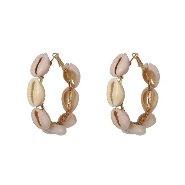 Vacation Vibes Earrings - White