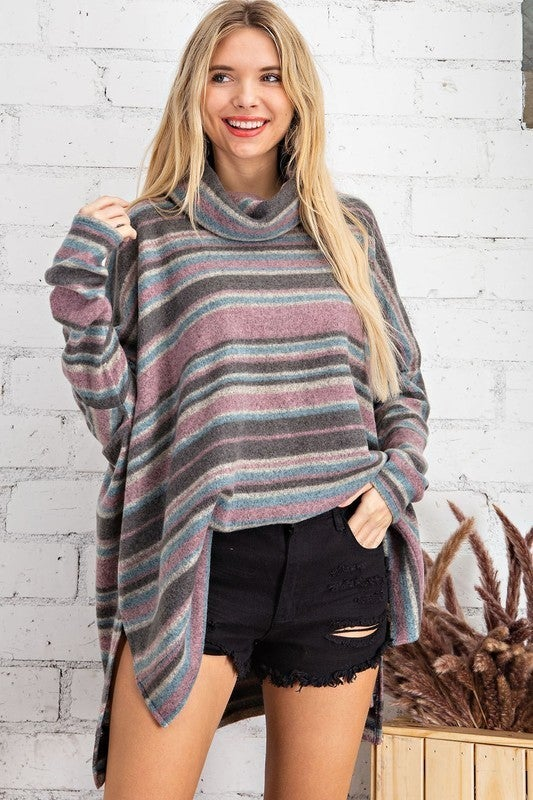Warm Me Up Cowl Neck Top