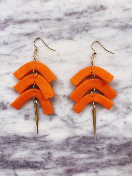Chic'd Out Fan Favorite Earrings - Orange