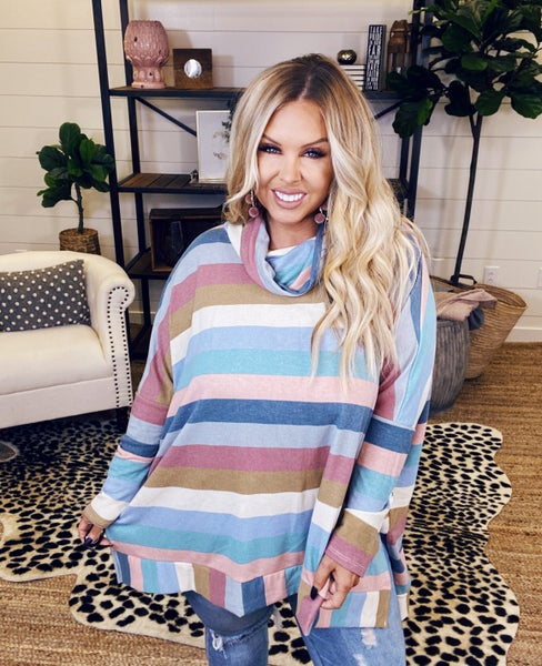 Sweet Surprise Poncho Top