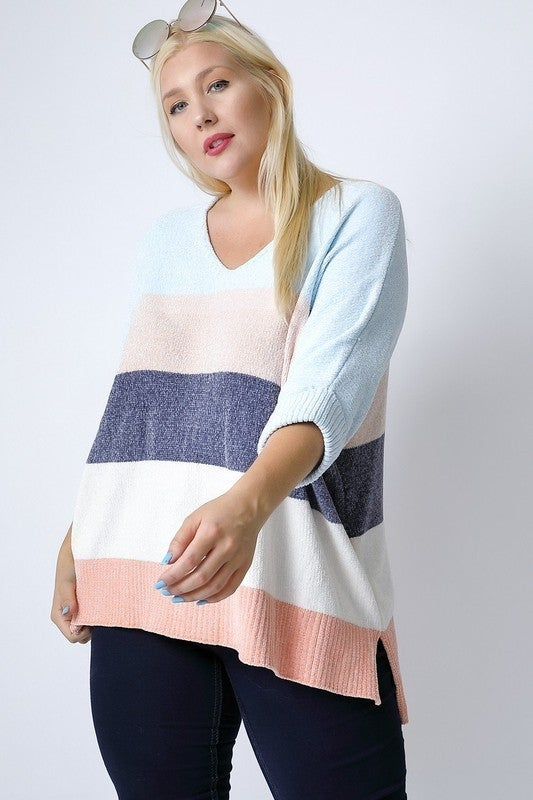 Simply Stunning Stripes Sweater