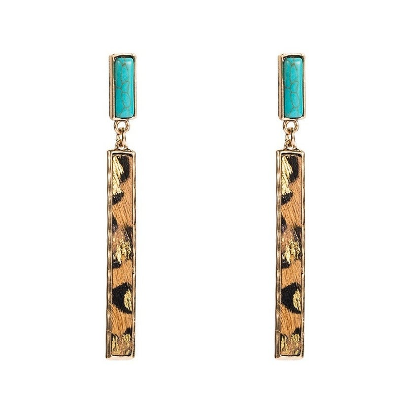 Get Involved Earrings - Blue