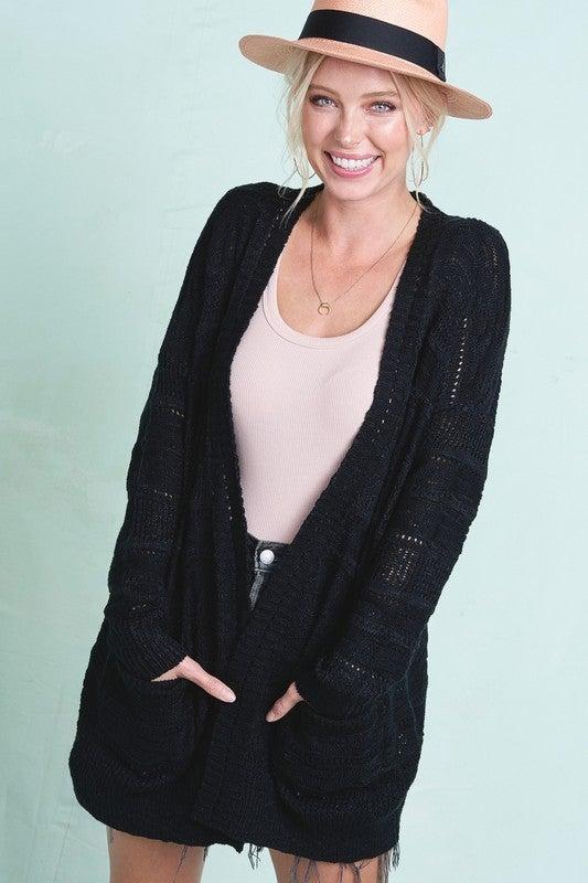 Jillian Pocket Cardigan