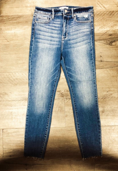 On the Edge Skinny Jeans