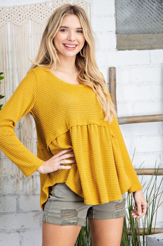 Cozy Is Calling Sweater - Mustard