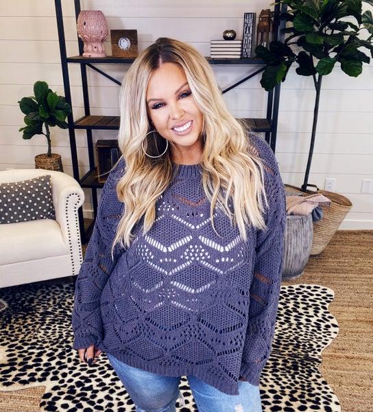 Soft & Cozy Sweater - Grey