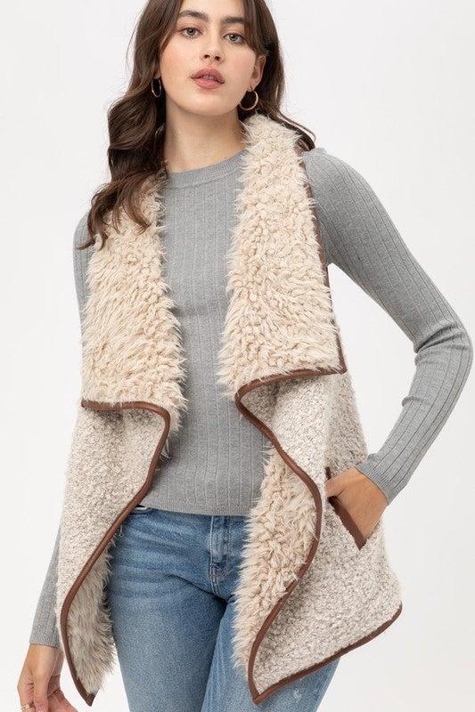 Vexing Fur Vest - Vanilla