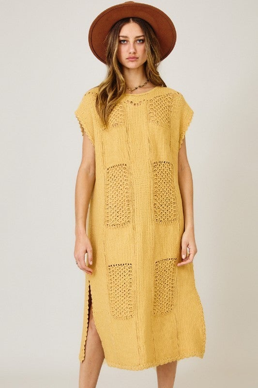 On Your Own Dress - Mustard