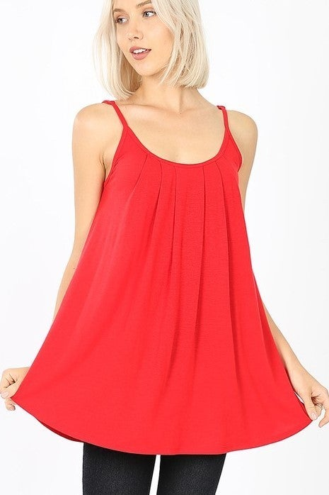 Simply Sweet Cami Top -  Ruby